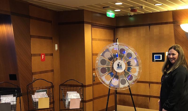 Stampin' Up! Prize Wheel