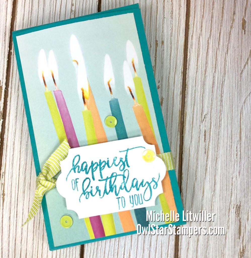 stampin up birthday box