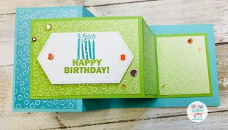 Stampin up double z card