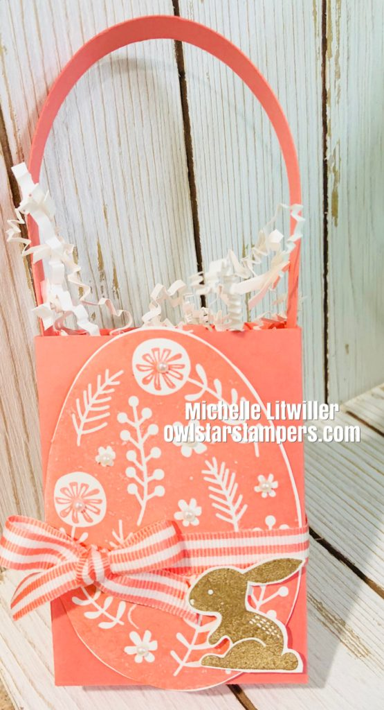 Stampin' Up! Easter Basket