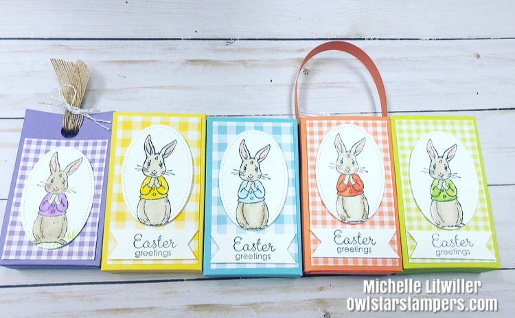 Stampin' Up! Easter Treat Bags