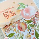sweet as a peach stampin up