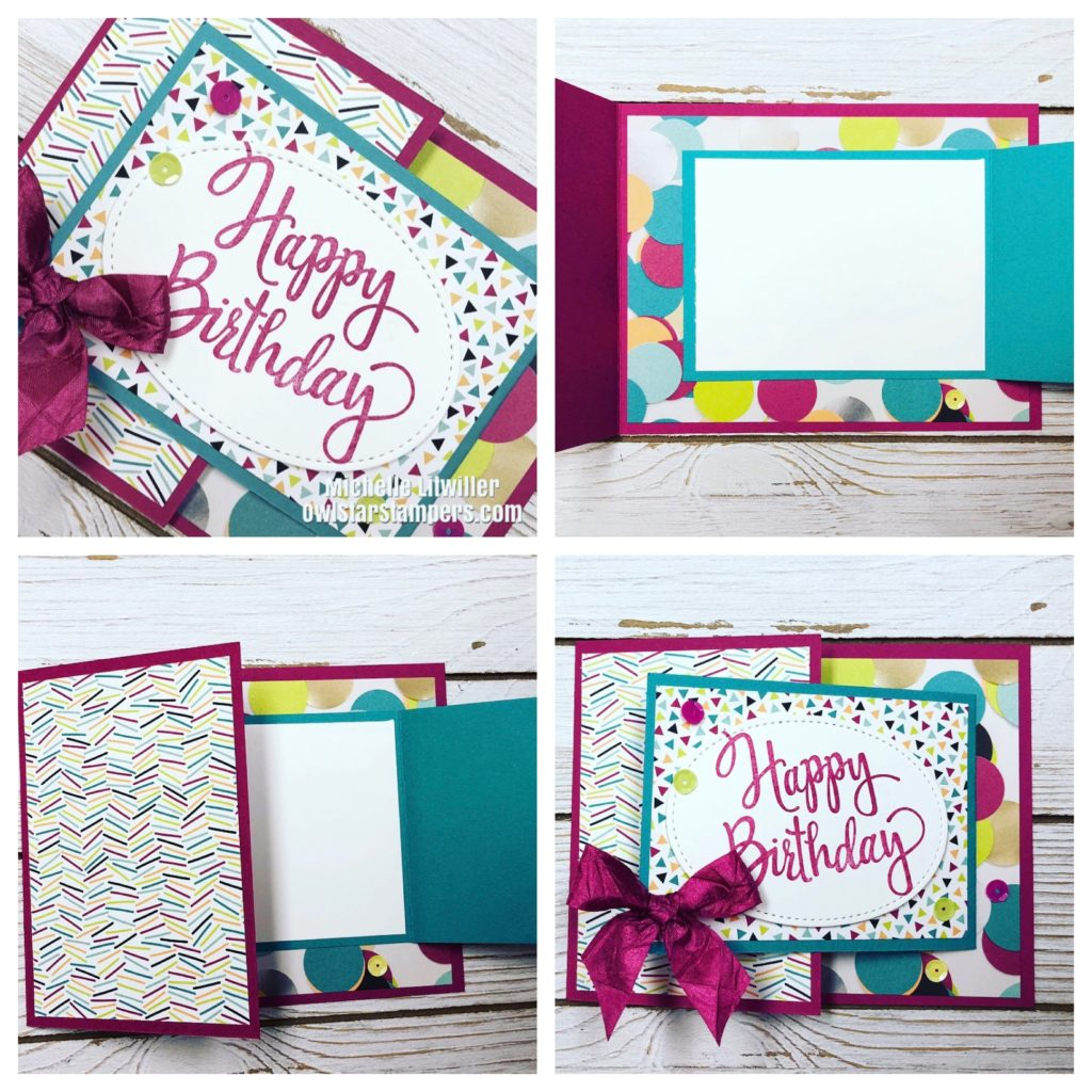 DIY Fun Fold Birthday Card