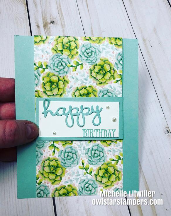 Fun Fold Card Stampin Up