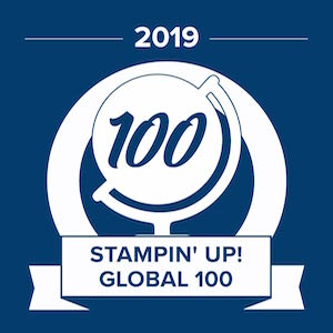 2019 Stampin' Up! Global 100 Michelle Litwiller
