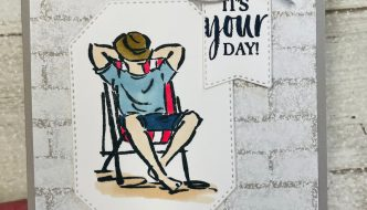 stampin up masculine card