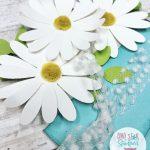 daisy flowerpot card