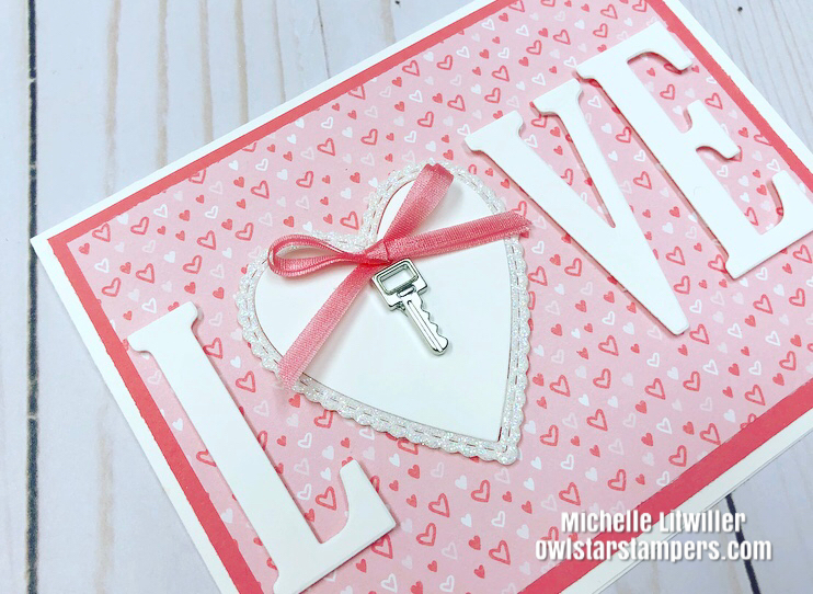 Stampin' Up! Valentine's Day Card