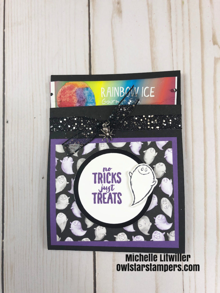 Halloween Treat Holder Stampin' Up!