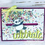Stampin' Up! Party Pandas Birthday Card