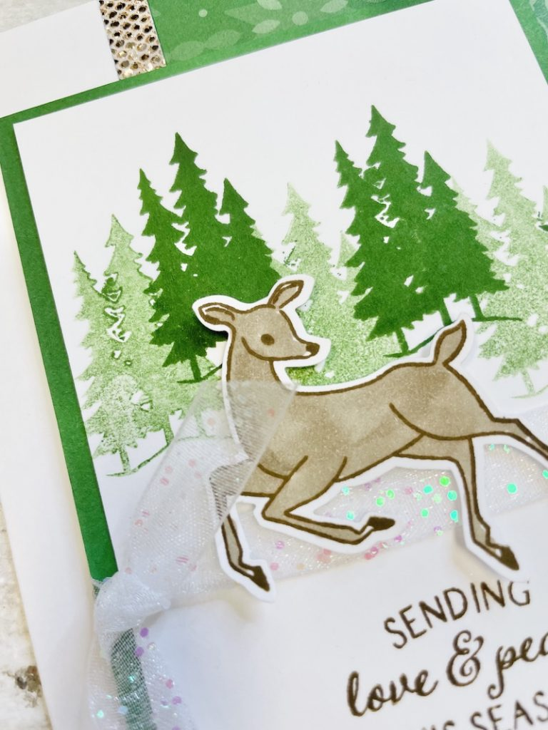 peaceful deer bundle by owl star stampers