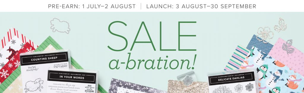 stampin up sale a bration august 2021