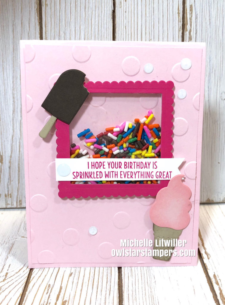 Stampin' Up! Shaker Card