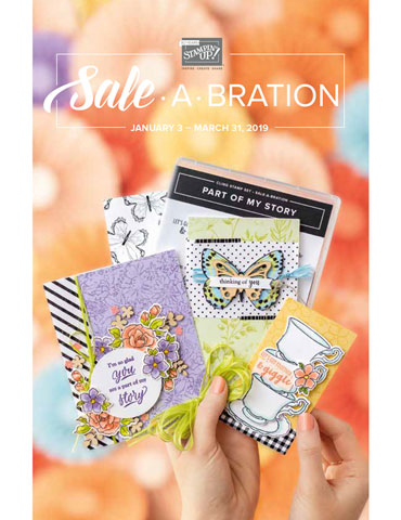 Stampin' Up! 2019 Sale A Bration Catalog