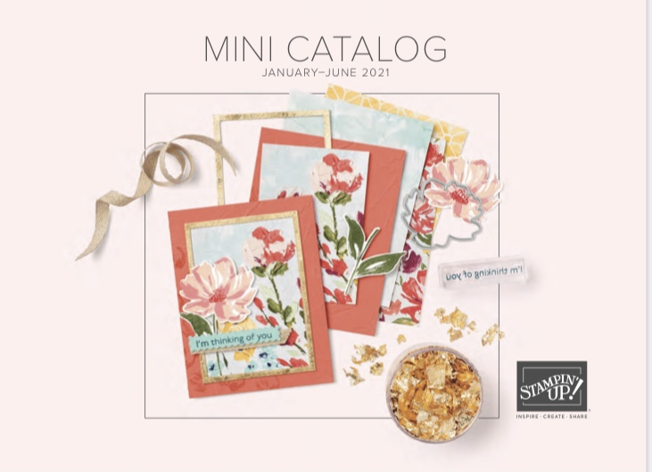 stampin up mini catalog