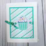 Sweet Stampin Up Cupcake Card