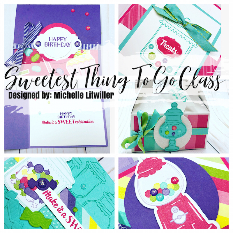 sweetest thing stampin up class to go