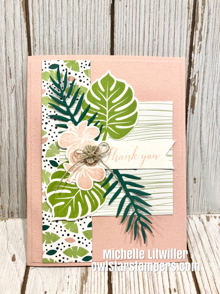 Tropical Chic Bundle Stampin' Up!