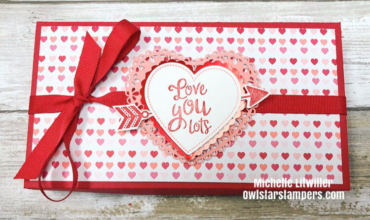 DIY valentines day box