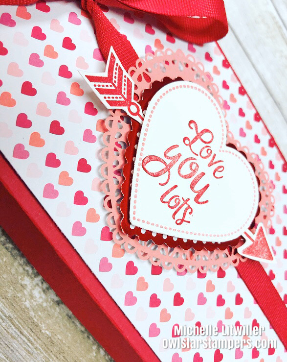 stampin up valentines day box