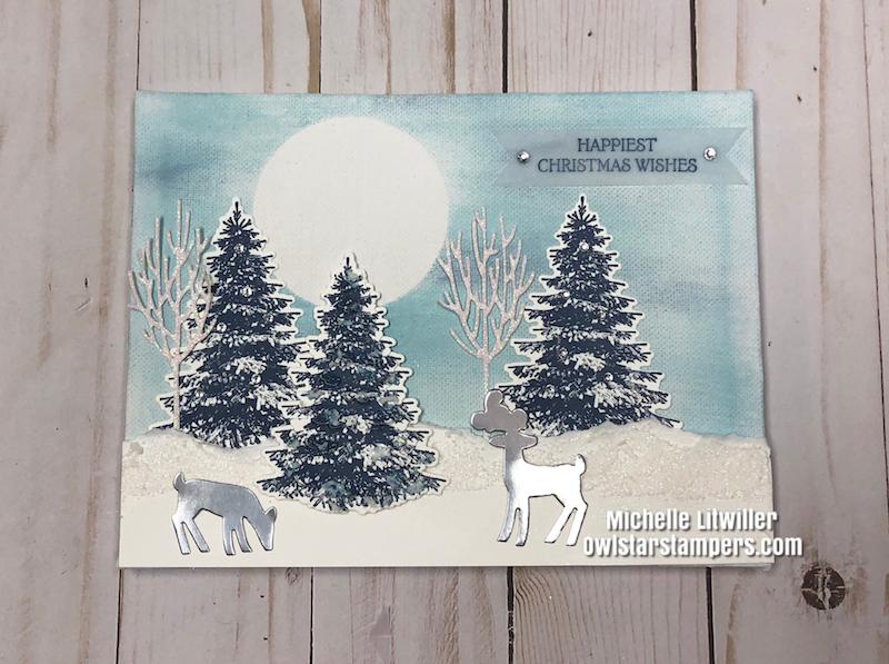 DIY Winter Canvas
