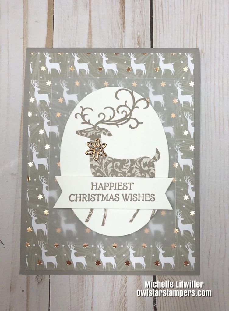 Changing Up Some Stampin' Up! Christmas Cards I Previously Made